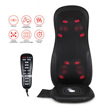 PureMate 3D Shiatsu Full Back & Shoulder Massager Chair Cushion With Controller