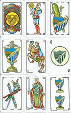 BARAJA ESPAÑOLA MALAGA CLUB DE FUTBOL-AÑO 1999