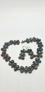Sterling Texco Necklace Set (Scrap Or Repair)