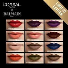 "L'Oreal Paris X Balmain Limited Edition Matte Lipstick, 12 Shade's ""You Choose"""