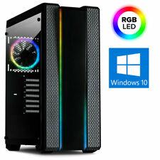 GAMER PC INTEL i5 9500F 8-32GB DDR4 SSD+HDD B365M RTX3060 Win10 Gaming Computer