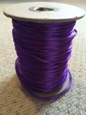 Beadsmith Purple Rattail 3mm Cord Approx 50~ Metres
