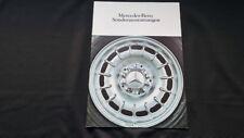 1979 Orig. Mercedes 280SL 350SL 450SL SLC Sonderausttattungen Prospekt Brochure