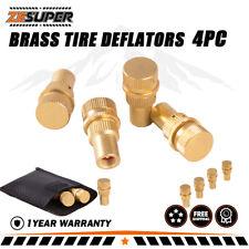 X-Bull Tyre Deflators 4X4 Tire Deflator Pressure Automatic 6 - 30 Psi Brass 4Wd
