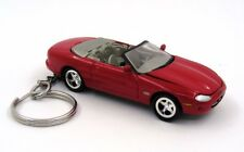 Custom Keychain Jaguar Red Key Chain Ring Fob