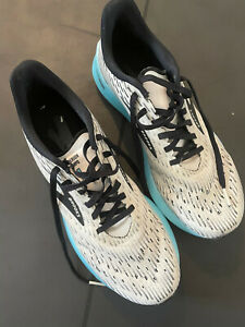 Brooks Hyperion Tempo - White/Black/Iced Aqua UK 7.5