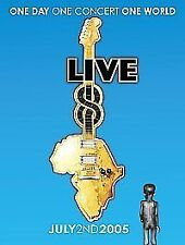 Live 8: One Day, One Concert, One World DVD (2005) cert E FREE Shipping, Save £s