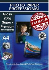PPD Photo Paper Glossy Premium A4 280g 20 Sheets Free P&P