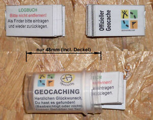 Geocahing Géocache- Behälter- 48mm + Journal de Bord