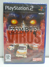 ZOMBIE VIRUS - SONY PS2 - NEW SEALED PAL VERSION - RARE - PLAYSTATION 2