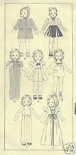 "453 Vintage Slender Doll Pattern - Size 22"" - Year 1934"