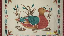 Mallard Duck Placemat/Pillow Panels - Cranston