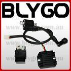 Ignition Coil + CDI UNIT + Regulator 150cc 250cc PIT Quad Dirt Bike ATV Buggy