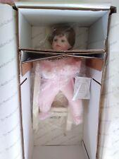 "The Hamilton Collection - ""Nite, Nite Pony"" - Porcelain Doll - 1995 - Nib"