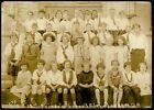 Vintage Real Photo 5' x 7' FAIRFAX SCHOOL 3rd Grade Class Cleveland Heights Ohio