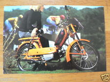 KREIDLER AUTOMATIC MP3 TECHNICAL INFOCARD/POSTCARD  BROMFIETS,MOPED,MOFA