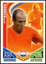 Arjen Robben Holland Topps 2010 Match Attax England Trade Card (C397)