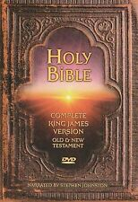 Holy Bible King James Version Complete Bible 2 DVDS As Seen on TV Over 70 hours