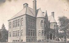 Real Photo Postcard Longfellow School in Kearney, Nebraska~108321