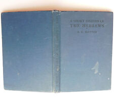 Short History of the Hebrews book Rattey Jewish Moses Herod 1960s school book