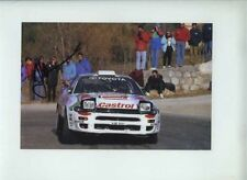 Juha Kankkunen Toyota Celica Turbo 4WD 1993 Signed Photograph
