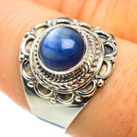 Kyanite 925 Sterling Silver Ring Size 8.75 Ana Co Jewelry R41183F