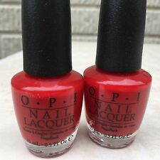 2 X Opi Red Hot Rio (Nl A70)