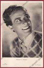 MASSIMO SERATO 05 ODERZO - ATTORE ACTOR CINEMA STAR MOVIE Cartolina FOTOGR. 1942