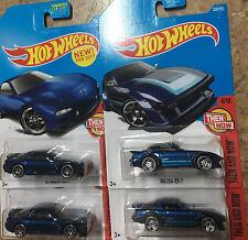 hot wheels 95 Mazda RX-7 & Mazda RX-7 Set 4 Cars