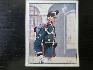 Sturm Zigaretten Dresden 1944 Bild 154 Oberjäger des sächs. Jäger-Bat. Nr. 13