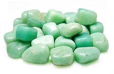 TUMBLED - (1) MED/LG AMAZONITE Crystal w/Description Card- Healing Stone Reiki