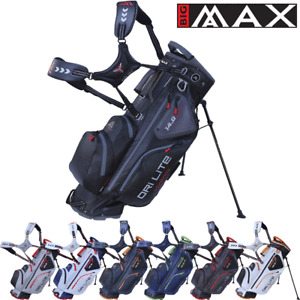 BIG MAX 2021 DRILITE HYBRID WATER RESISTANT 14 WAY DIVIDER GOLF STAND CARRY BAG