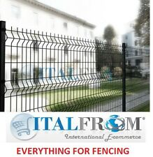 Fence Panel RAILING Wire Mesh Anthracite – Various Heights H 125 X 200cm