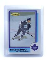 1986-1987 Steve Thomas #245 Toronto Maple Leafs OPC O-Pee-Chee Hockey Card H643