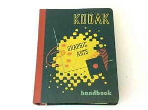 Vintage Used 1951 Eastman Kodak Graphic Arts Art Handbook Book Spiral Bound