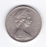 1973 Australia 20 Cent Coin nice grade U-948