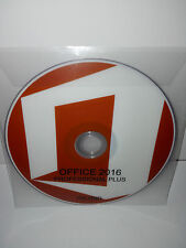 DVD + PRODUCT KEY - OFFICE 2016 PROFESSIONAL PLUS 32/64 BIT FULL  [ENGLISH]
