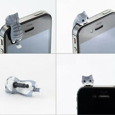 Dust Plug Cat 3.5mm Universal Phone Earphone Jack Plug Dust-proof Stopper Cap