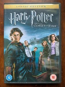 Harry Potter and the Goblet of Fire DVD Year 4 Wizarding World Movie 1 Disc