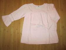 Tee-shirt/Haut,Rose Clair,Manches 3/4,T10ans,marque V. Fraise,en TBE