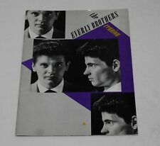 The Everly Brothers Reunion -1983 Reunion Concert Program Booklet - Richard Amdu
