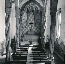 SETÚBAL c. 1960 - Intérieur Bancs Église de Jésus Portugal - Div 12648