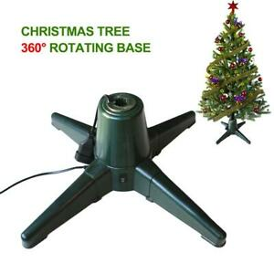 Christmas Tree Stand 360 Electric Rotating Christmas Tree Stand 5.9ft to 6.9ft