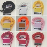 Shoe laces (football boots, trainers) 120cm semi circle