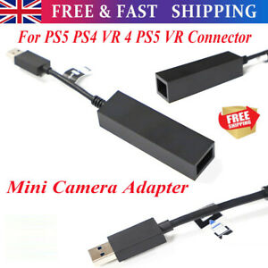 Mini Camera Adapter for PS VR to PS5 Cable for PS5 PS4 VR 4 PS5 VR Connector UK·