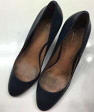 Brooks Brothers Black Leather Ladies Shoes Sz 9 M