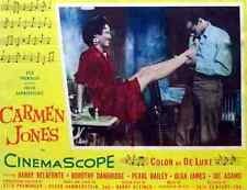 Film Carmen Jones 02 A3 Box Canvas Print