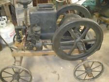 Antique Christensen Hit & Miss Sideshaft Engine