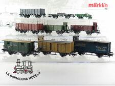 MB22 ~AC MÄRKLIN 4789 Verband der Staatsbahnen 8 tlg. - OVP