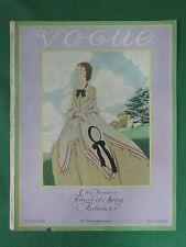 Vintage Original VOGUE Magazine Feb. 15, 1926 PIERRE BRISSAUD *Cover Only*